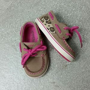 Baby girl Sperry shoes